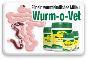 Wurmfeindliches Milieu schaffen mit Wurm-O-Vet